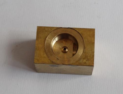 Componente in ottone